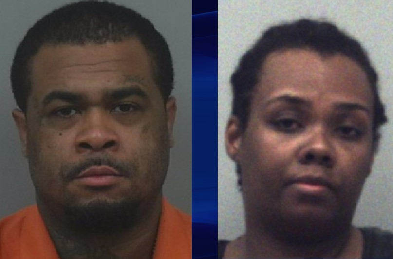 Rimmon Lewis and Angela Strothers