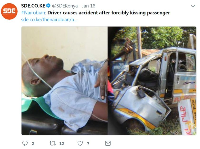 David Nandi and the crashed van