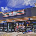 7-Eleven store location (illustration)