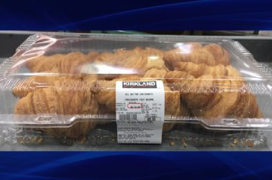 Recalled Costco Kirkland croissants